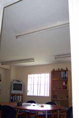 Ceiling Artex